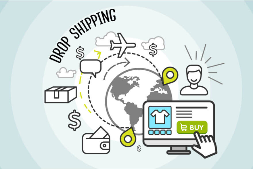 Dropshipping consiste em uma parceria comercial entre quem vende e quem fornece