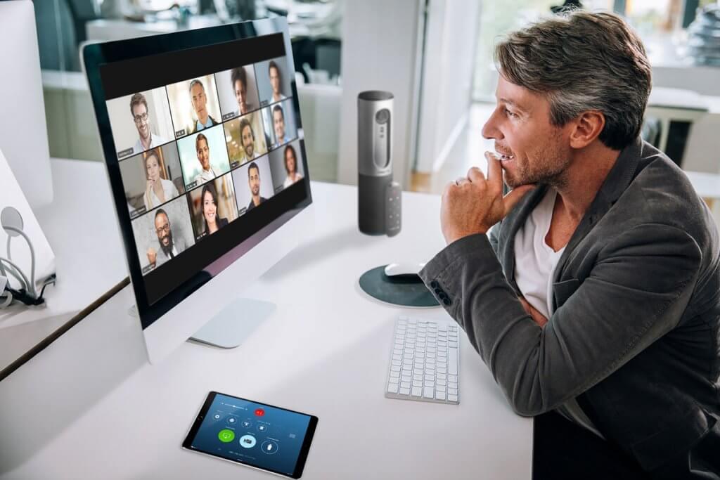 Zoom se tornou uma grande ferramenta de reuniões à distância