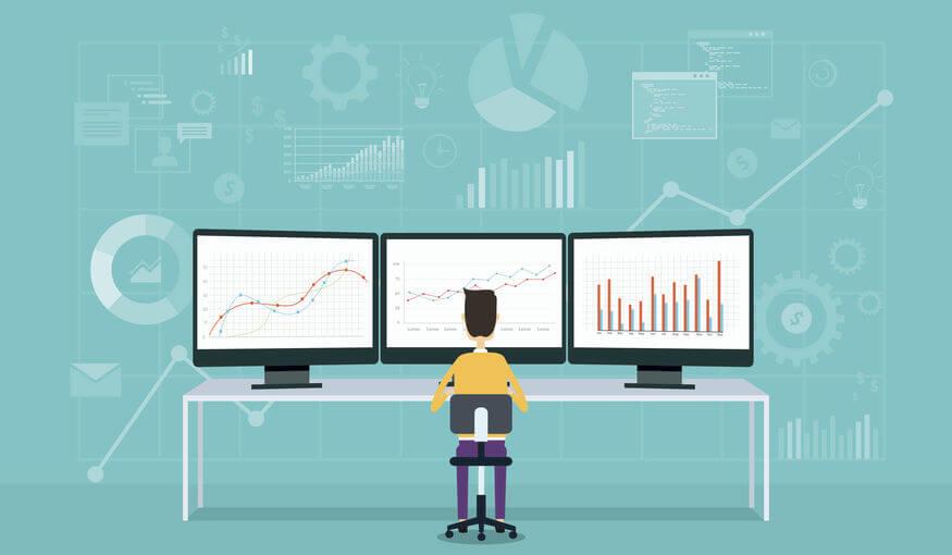 Dados geram gráficos e informações relevantes