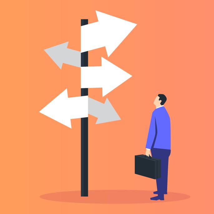 Tomar decisões importantes sem uma base de dados é caminhar sem saber para onde