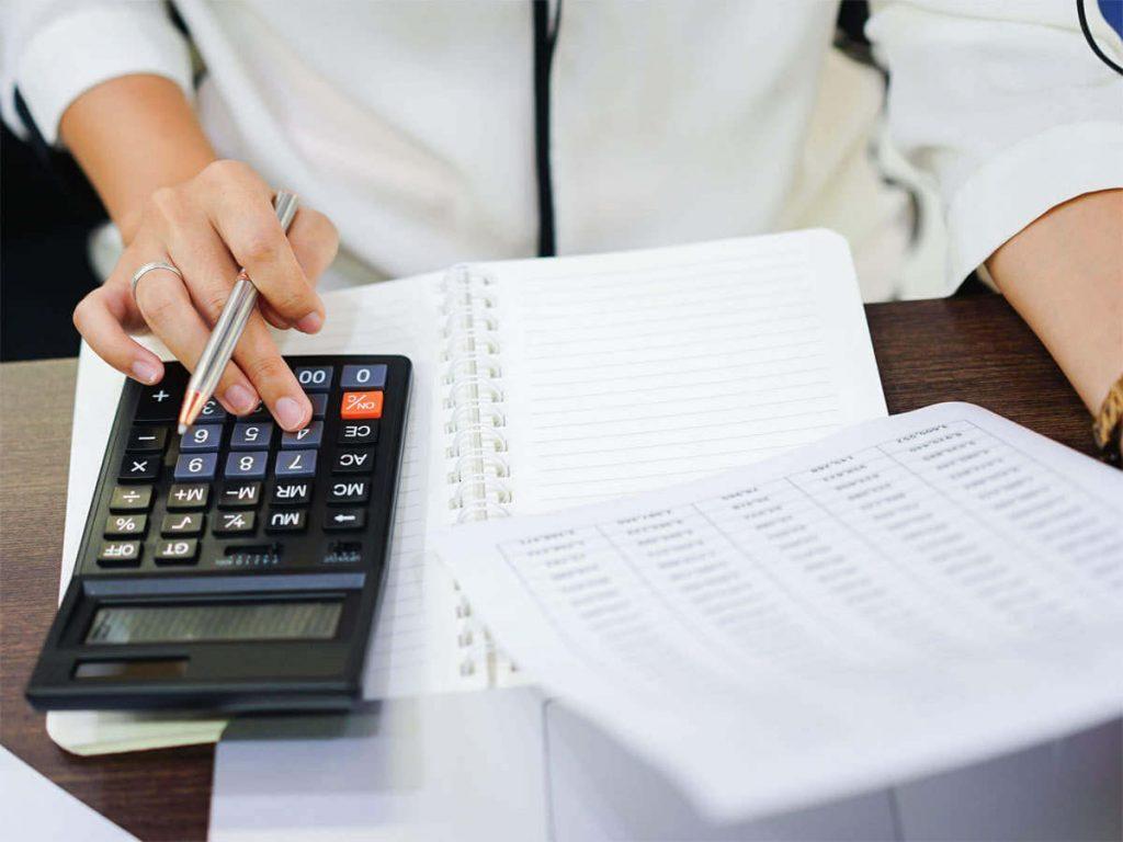 O  valor do cálculo do ICMS acumulado pode ser pesado