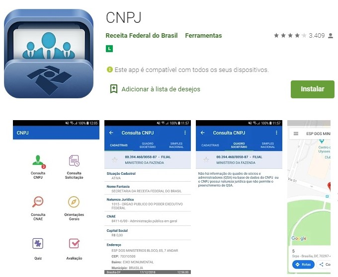 app cnpj