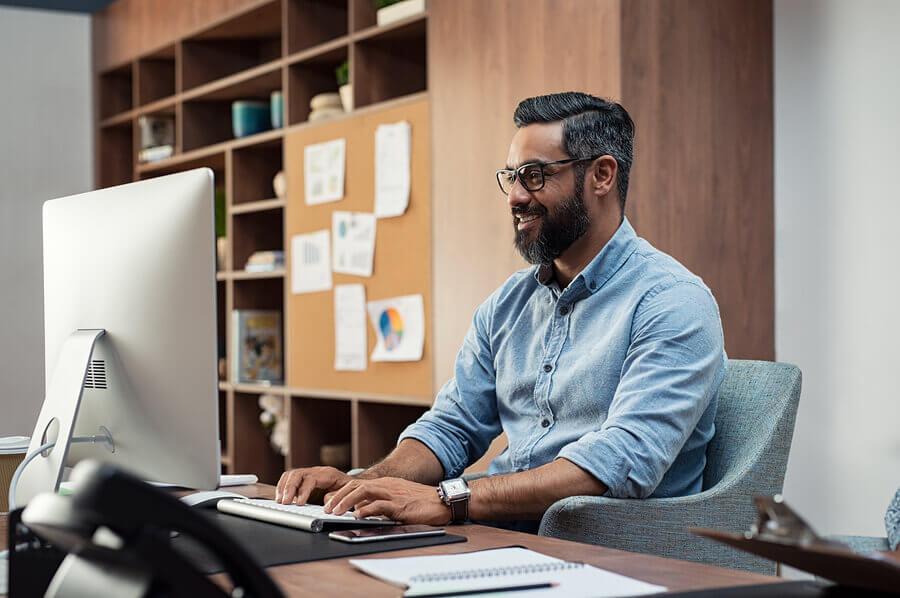 A tendência em gestão empresarial do home office deve continuar em muitos locais de trabalho