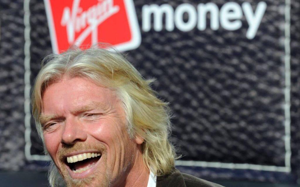 o empreendedor de sucesso richard branson