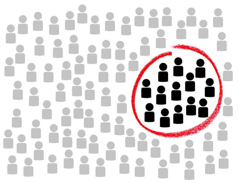 É impossível 'abocanhar' 100% do mercado, por isso o SAM estima qual o público alvo específico do serviço prestado pela empresa
