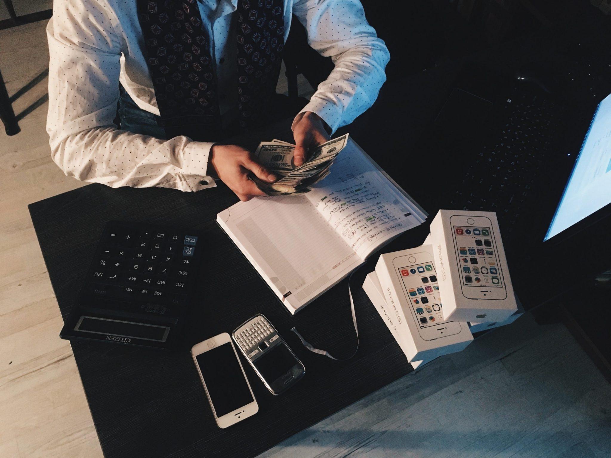 Recibos podem ser utilizados para maior controle financeiro.