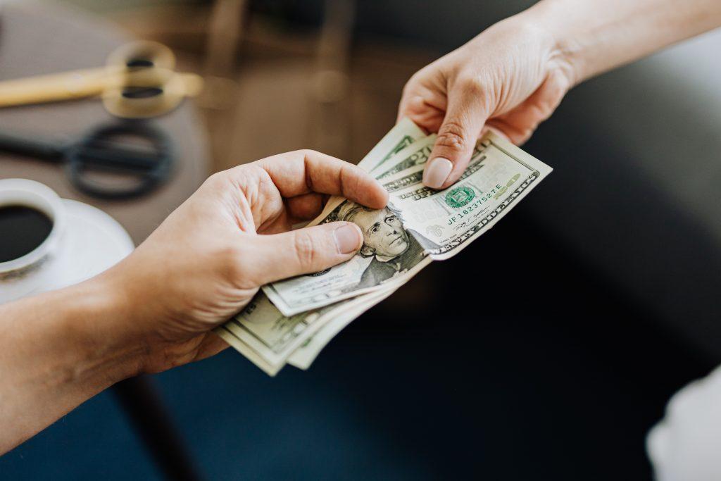 Utilize recibos para comprovar pagamento.