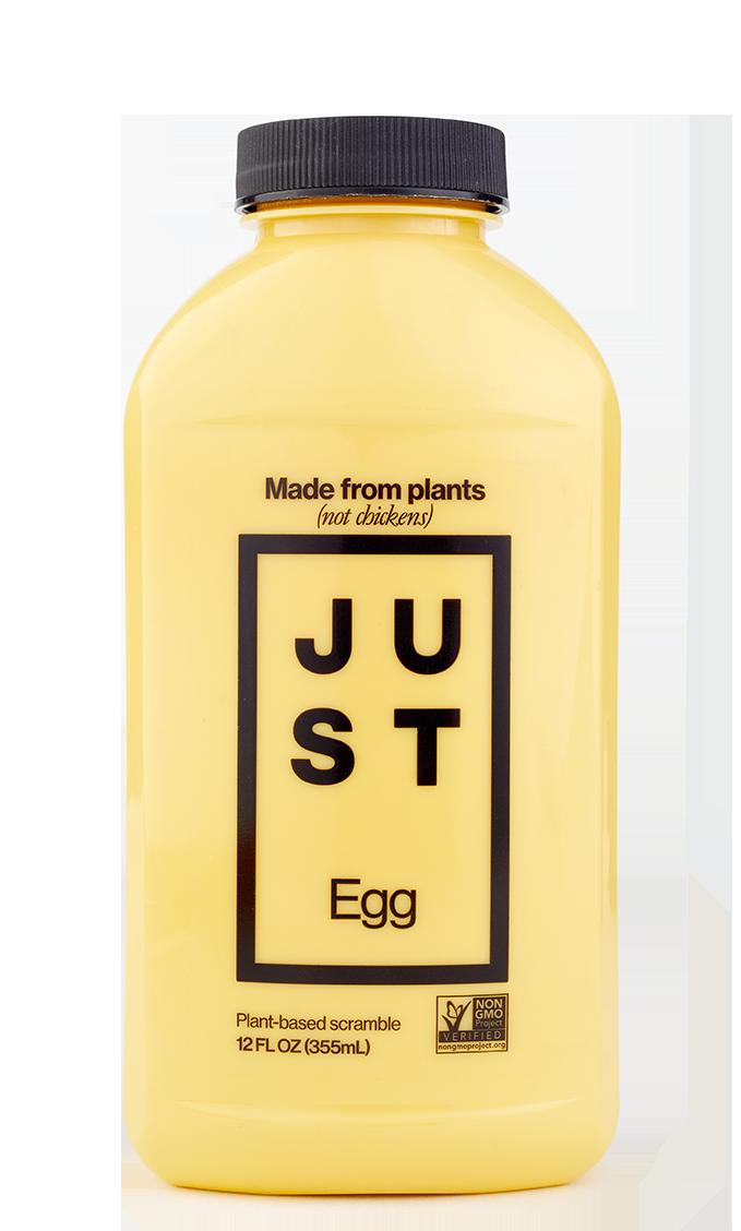 O Just Egg é disponibilizado em embalagens de 355ml e pode ser usado em todas as receita que levam ovos de galinha.