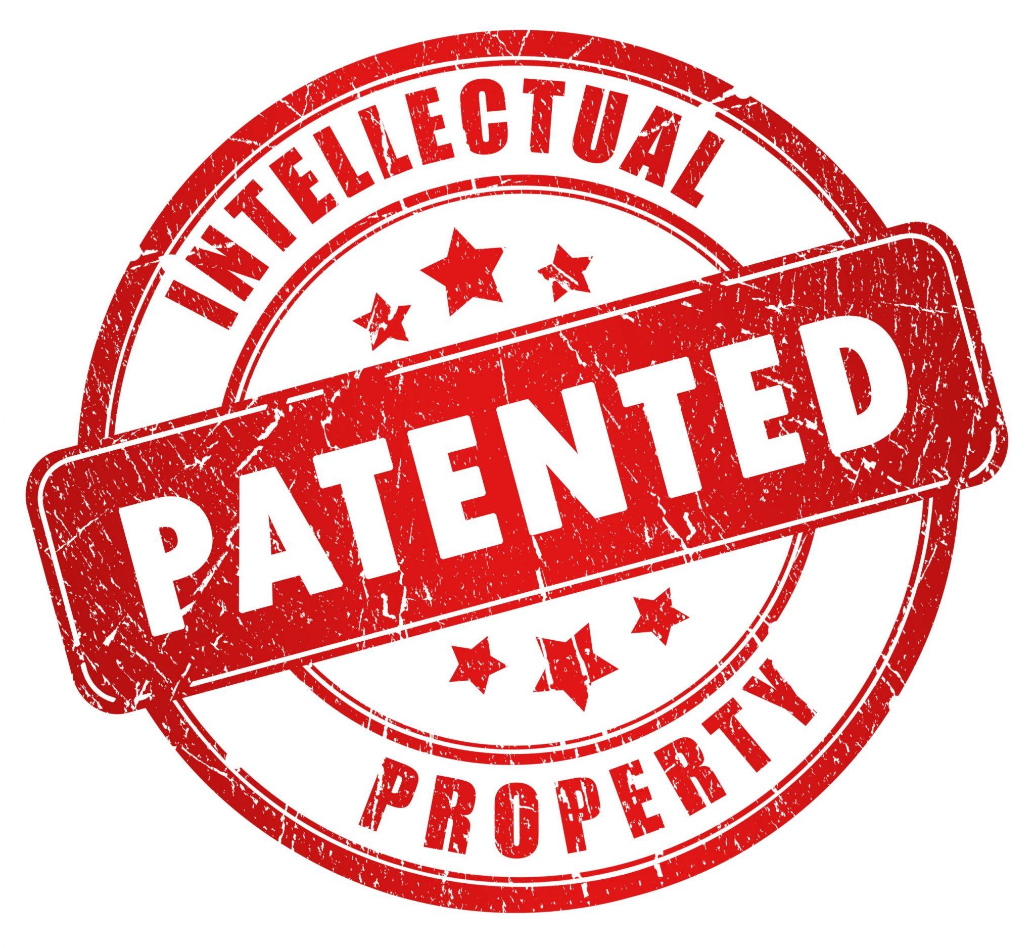 As patentes referem-se à invenção de novas tecnologias.